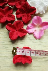 二センチの花